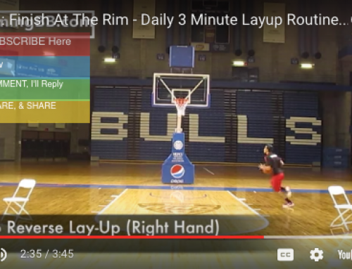 3 minute lay up drill